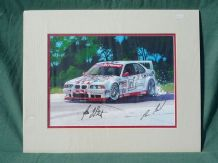 BMW M3 E46 V8 signed by driver HANS STUCK and BORIS SAID